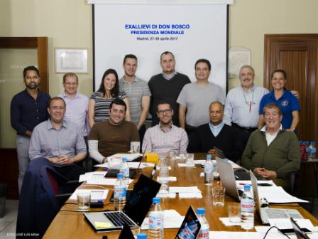 Reunión de la Presidencia Mundial de la Confederación de Exalumnos y Exalumnas en Madrid